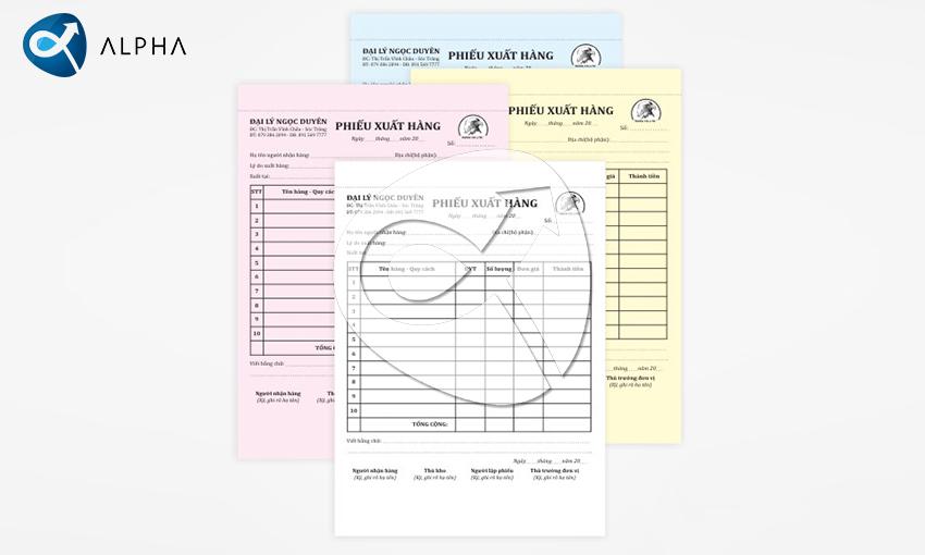 , Báo giá In Phiếu thu – Hóa đơn, In Alpha - Xưởng in uy tín, chất lượng, chuyên nghiệp tại Hà Nội