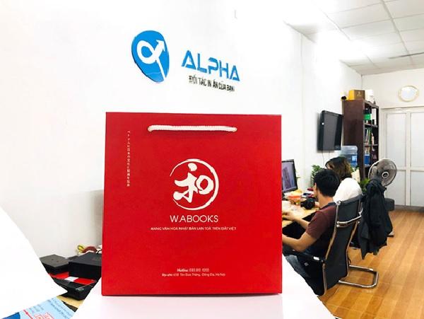 In Alpha - Xưởng in túi giấy giá rẻ tại Hà Nội