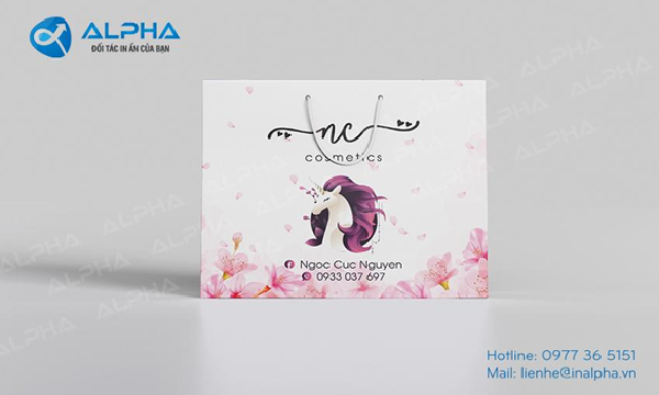In Alpha thực hiện cung cấp mẫy túi giấy thời trang đẹp