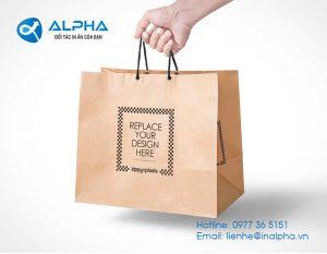 In túi giấy bán hàng nên lựa chọn chất liệu gì?