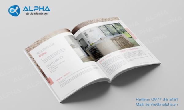 Mẫu thiết kế catalogue bằng Photoshop