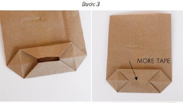 Cách làm túi giấy đơn giản