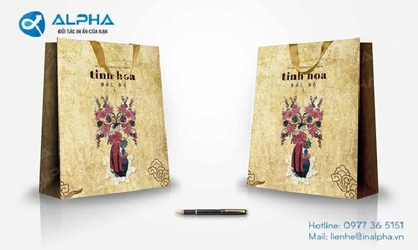 Inalpha - xưởng in túi giấy chuyên nghiệp hàng đầu hiện nay
