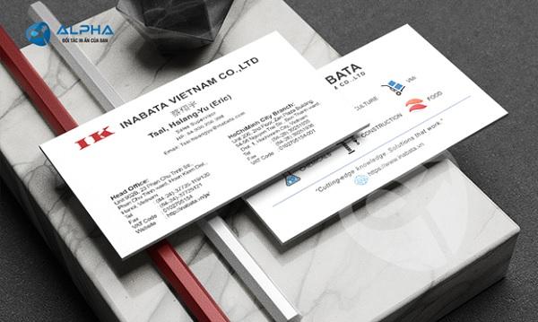 Thẻ danh thiếp (Name Card)