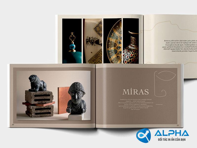 sản phẩm thiết kế catalog
