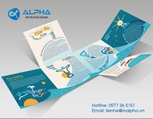 in brochure đẹp, In Alpha - Xưởng in uy tín, chất lượng, chuyên nghiệp tại Hà Nội