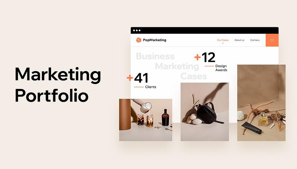 Xây dựng thương hiệu với portfolio