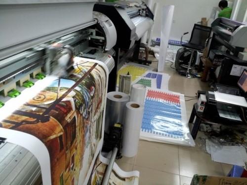 In kỹ thuật số ứng dụng nhiều trong các văn phòng, banner, quảng cáo