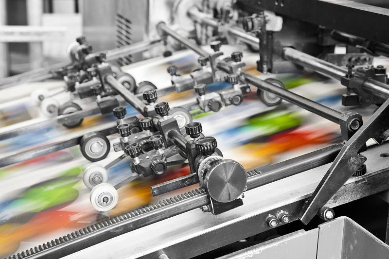 In offset là kỹ thuật in ấn cơ bản được ứng dụng nhiều trong ngành in chuyên nghiệp.