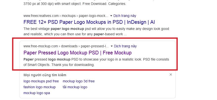 tìm trên các trang thường cung cấp mẫu thiết kế free để tải về