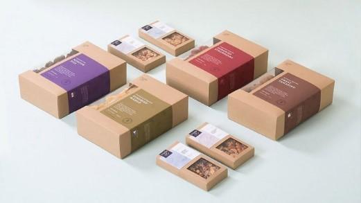 Nhờ bao bì, hộp sản phẩm mà khách hàng dễ nhận diện thương hiệu quen thuộc.